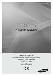 LCD Ekran - Samsung Techwin UK