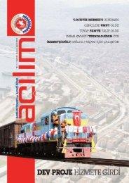 Açılım Sayı:29 Şubat-Mart 2013 - Samsun Ticaret ve Sanayi Odası
