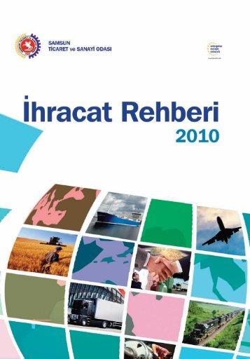 İhracat Rehberi (2010) - Samsun Ticaret ve Sanayi Odası