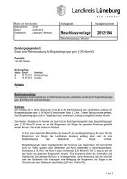 Landkreis Lüneburg - Amt-Neuhaus