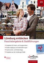 Lüneburger Pauschalangebote 2012 (pdf 5,55 MB)