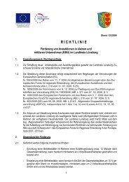 ProRegio-Richtlinie (pdf 0,13 MB) - Samtgemeinde Ilmenau