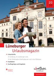 Lüneburger Urlaubsmagazin 2010 - Amt-Neuhaus