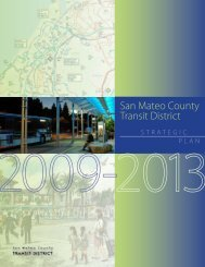 District / Strategic Plan 2009-2013 - SamTrans