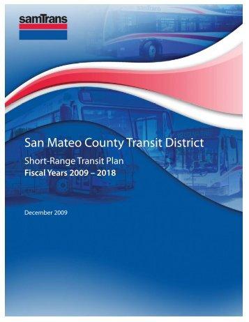SamTrans Short Range Transit Plan FY2009-2018