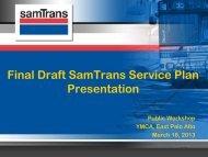 East Palo Alto - SamTrans