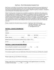 SamTrans – Title VI Discrimination Complaint Form SamTrans is ...
