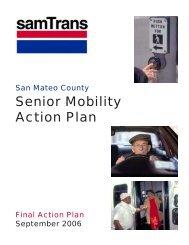 Senior Mobility Action Plan - SamTrans
