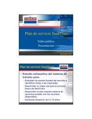 Plan de servicio SamTrans