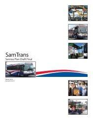 draft final SamTrans Service Plan (SSP)