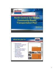 North Central San Mateo Community-Based ... - SamTrans