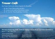 Trauer- Café - Sana Klinikum Lichtenberg