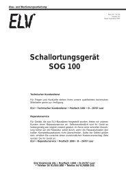 Schallortungsgerät SOG 100