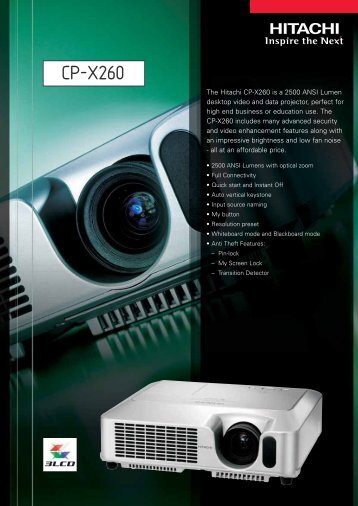CP-X260 - Beamer-Discount
