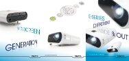 Projektoren Line-up 2008 - Beamer-Discount