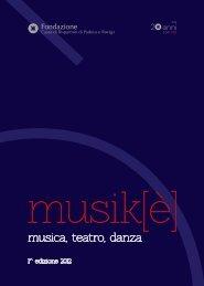 musica, teatro, danza - Comune di Lendinara