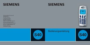 Siemens S40