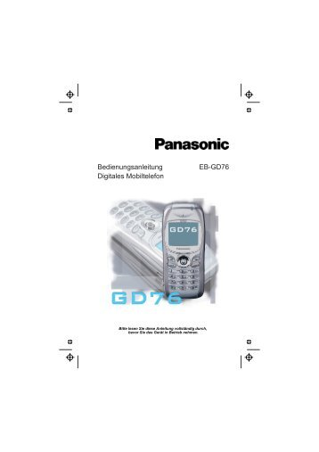 Panasonic GD76 - Nesatec GmbH & Co. KG
