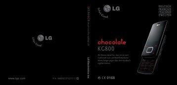 KG800 Benutzerhandbuch P/N : MMBB0207027(1.1) H DEUTSCH ...