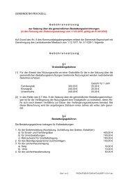 Friedhofsgebührensatzung - Gemeinde Bayrischzell