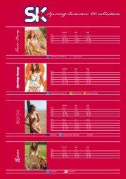 Spring Summer 06 collection - SK Selnova