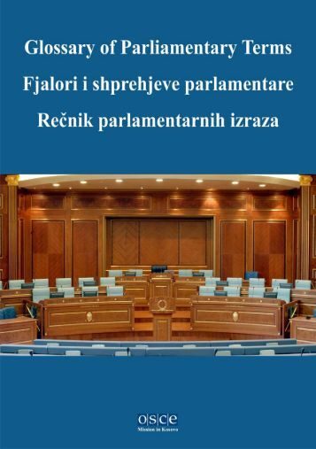 Glossary of Parliamentary Terms - Lexicool