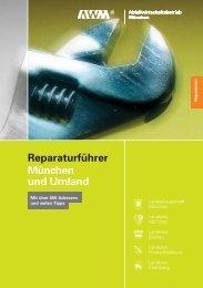 Reparaturführer München und Umland - Agenda 21 Taufkirchen