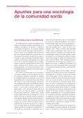bibliotecas públicas y comunidad sorda - Servicio de Información ... - Page 2