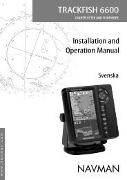 TRACKFISH 6600 Swed A.indd - Navman Marine