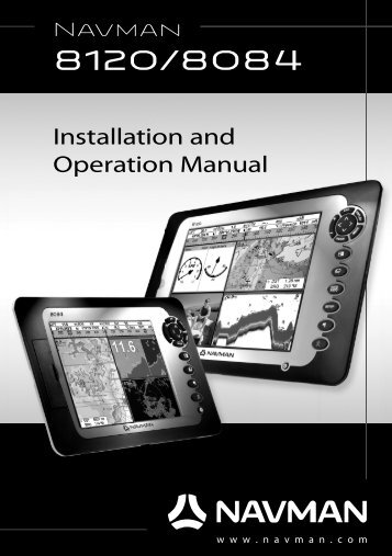 8120/8084 Combo Manual - Navman Marine