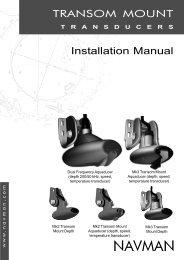 Installation Manual - Navman Marine