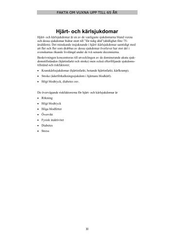 Fakta om vuxna - Norrbottens läns landsting
