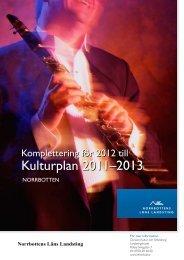 Kompletteringar för 2012 - Norrbottens läns landsting