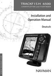 Installation and Operation Manual - Navman Marine