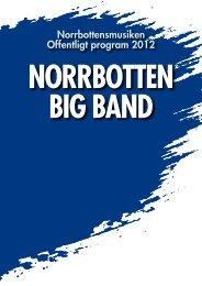 norrbotten big band - Norrbottens läns landsting