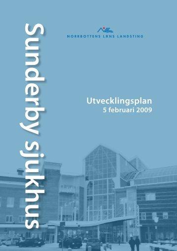 Utvecklingsplan 2008 - Norrbottens läns landsting
