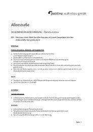 detaillierte Baubeschreibung im PDF-Format