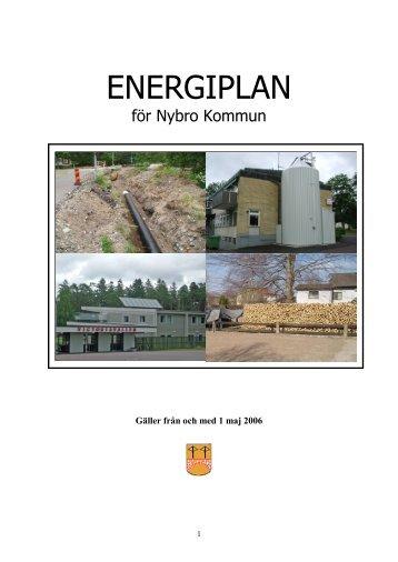 Energiplan (2006) (pdf, nytt fönster) - Nybro kommun