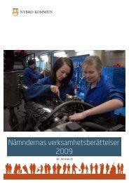 Verksamhetsberättelse 2009 (pdf, nytt fönster) - Nybro kommun