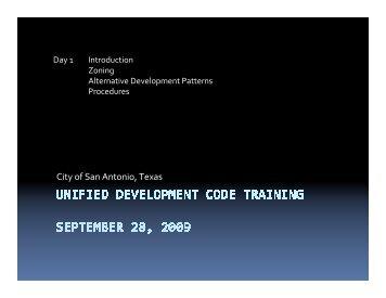 Zoning, Alternative Development Patterns, Procedures