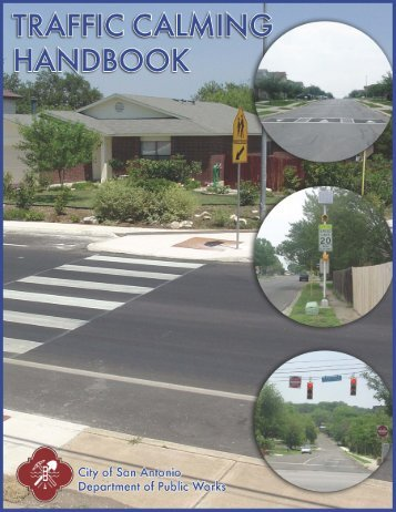 Traffic Calming Handbook, a printer-friendly version