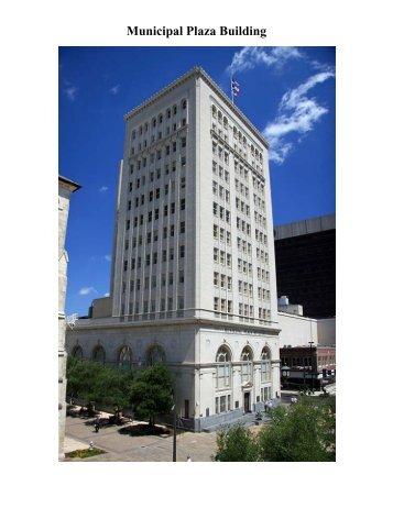 Municipal Plaza Building - The City of San Antonio