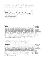 Hitler Almanyası'nda Sanat ve Propaganda