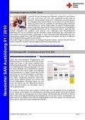 Newsletter SAN Ausbildung 01 / 2010 - Sanitätsausbildung - Seite 2