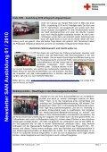 Newsletter SAN Ausbildung 01 / 2010 - Sanitätsausbildung - Seite 3