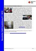 Newsletter SAN Ausbildung 01 / 2010 - Sanitätsausbildung - Seite 4