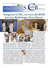 Anno 4, n. 5 - maggio 2011 - Ospedale San Carlo Borromeo