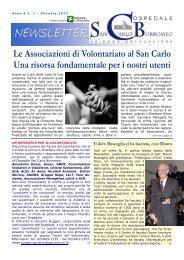 Anno 6, n. 1 - gennaio 2013 - Ospedale San Carlo Borromeo
