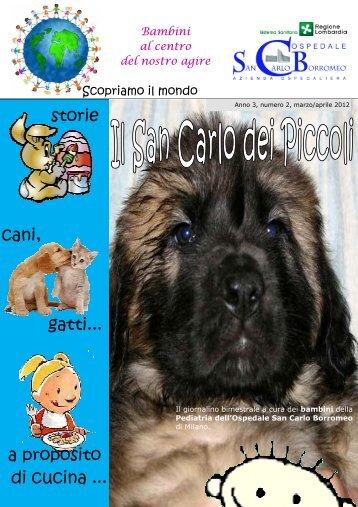 ANNO 3 n. 2 marzo aprile 2012 - Ospedale San Carlo Borromeo