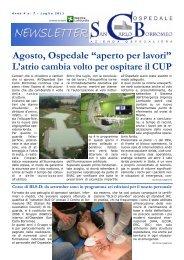 Anno 4, n. 7 - luglio 2011 - Ospedale San Carlo Borromeo